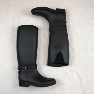 NWT Banana Republic Buckle Strap Rain Boot